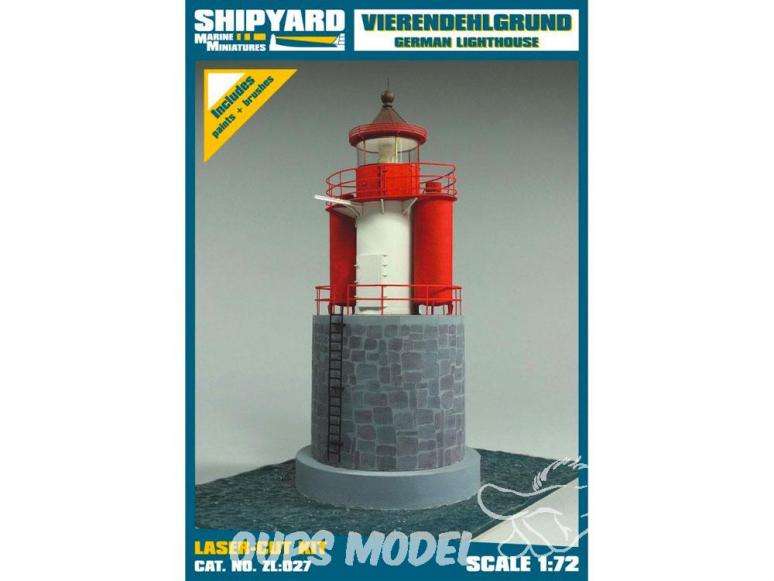 Shipyard ZL:027 Phare de Vierendehlgrund Allemagne 1/72