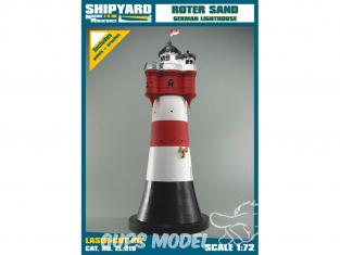 Shipyard ZL:019 Phare de Roter Sand Allemagne 1/72