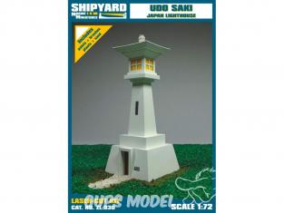 Shipyard ZL:030 Phare de Udo Saki Japon 1/72