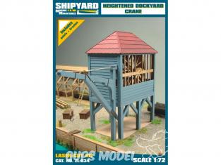 Shipyard ZL:034 Grue de chantier maritime surélevée 1/72