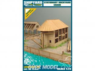 Shipyard ZL:035 Grue de chantier naval stationnaire 1/72