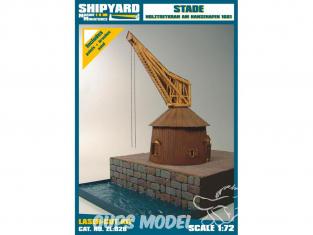 Shipyard ZL:028 Grue en bois de Hansehafen en 1661 1/72