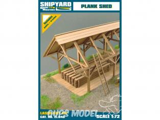 Shipyard ZL:040 Hangar de planches 1/72