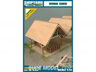 Shipyard ZL:041 Hangar de travail 1/72