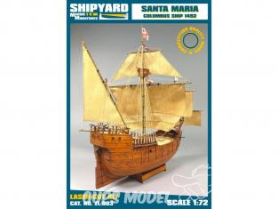 Shipyard ZL:003 Santa Maria 1/72
