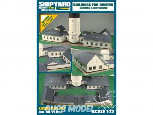 Shipyard ZL:033 Bâtiments pour le phare de combat Krampen Allemagne 1/72