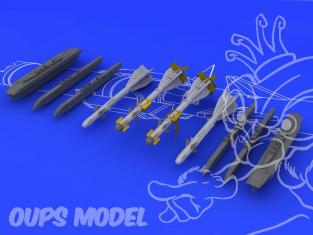 Eduard kit d'amelioration avion brassin 648082 R60 AA8 Aphid 1/48