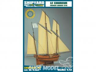 Shipyard ZL:002 Le Coureur 1776 1/72