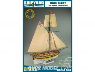Shipyard ZL:001 HMS Alert 1777 1/72