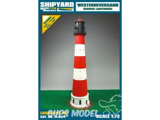 Shipyard ZL:024 Phare de Westerheversand Allemagne 1/72