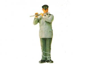 preiser figurine militaire 64373 musicien avec flute traversiere 1/35