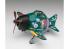 "Hasegawa maquette avion 52183 Tamago Girls Collection No.04 ""Mikumo Blanc Calme"" avec Zéro EGG PLANE"