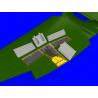 Eduard kit d'amelioration avion brassin 648419 Gun Bays Tempest Mk.V Eduard 1/48