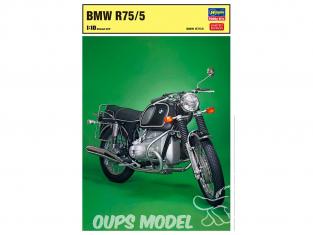 Hasegawa maquette moto 52174 BMW R75/5 1/10