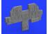 Eduard kit d'amelioration avion Löök 634010 P-47D Eduard / Hasegawa 1/32
