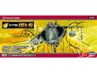 HASEGAWA maquette avion 64766 Zone 88 AV-8 Harrier Kim Abha 1/72