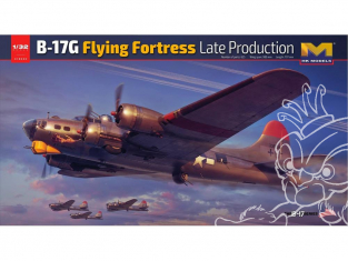 HK Models maquette avion 01E030 B-17G Flying Fortress Late production 1/32