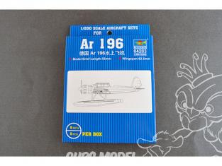 TRUMPETER maquette avion 04203 Set de 5 avions Ar-196 HYDRAVION KRIEGSMARINE ALLEMANDE 1/200