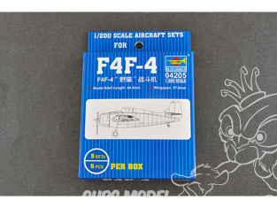 "TRUMPETER maquetteavion 04205 F4F ""WILDCAT"" CHASSEUR US NAVY 1/200"