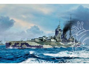 TRUMPETER maquette bateau 06718 HMS RODNEY 1944 1/700