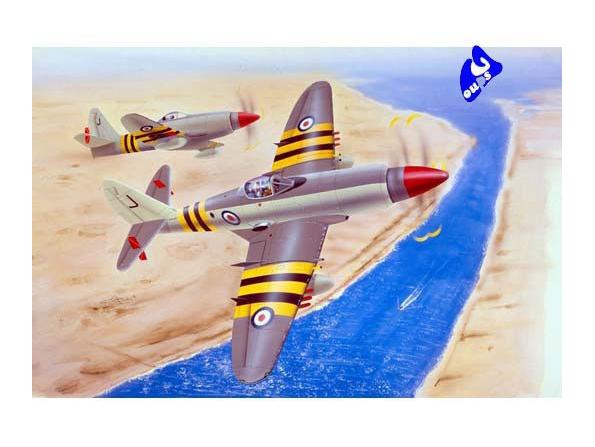 Trumpeter maquette avion 02820 WESTLAND WYVERN S.4 1/48