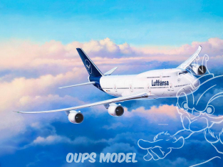 Revell maquette avion 03891 Boeing 747-8 Lufthansa New Livery 1/144