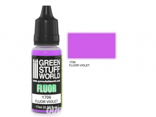 Green Stuff 500653 Peinture Fluor VIOLET 17ml