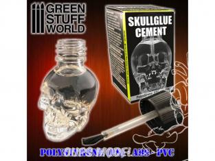 Green Stuff 500462 SkullGlue Colle pour plastiques