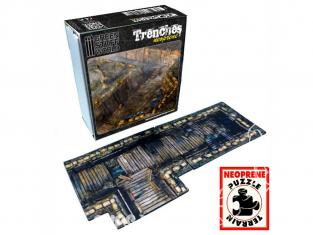 Green Stuff 500226 Tapis Tranchées Set de Terrain Neoprene 2D