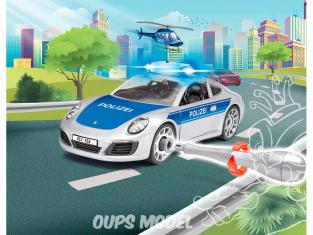REVELL MAQUETTE ENFANT 00818 Porsche 911 Police  JUNIOR KIT
