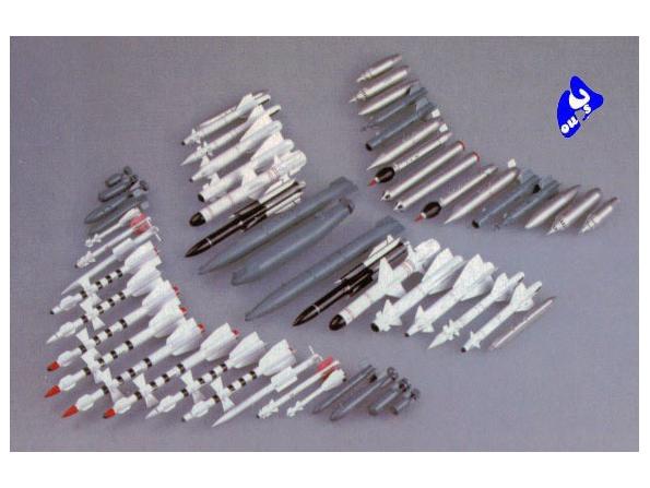 Trumpeter maquette avion 03301 SET D'ARMEMENT AVIONS SOVIETIQUES