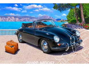 Revell maquette voiture 07043 Porsche 356 Cabriolet 1/16