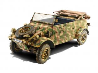 Italeri maquette militaire 7405 Kdf. 1 Typ 82 Kübelwagen 1/9