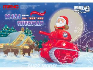 Meng maquette militaire WWV-002 Préparez-vous pour votre cadeau de Noël le pere Noël arrive SERIE WORLD WAR TOON
