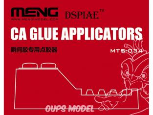 MENG MTS-034 Un produit MENG essentiel pour travailler avec CA Glue (cyanoacrylate)
