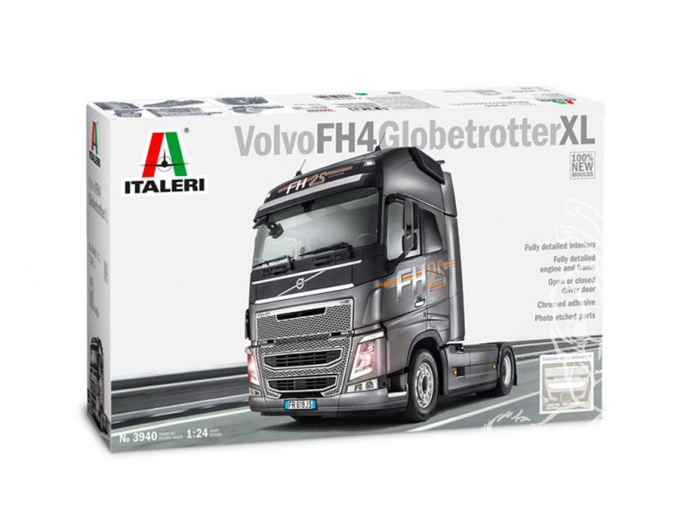 Italeri maquette camion 3940 VOLVO FH4 GLOBETROTTER XL 1/24