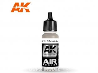 Ak interactive peinture acrylique Air AK2175 Gris Pierre (Steingrau) RAL7030 17ml