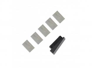 ModelCraft PTK8041 Lames d'outil de pliage de planches x5
