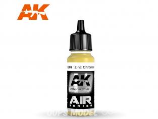 Ak interactive peinture acrylique Air AK2207 Jaune Zinc Chromate 17ml