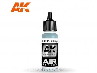 Ak interactive peinture acrylique Air AK2253 Bleu Clair Aii 17ml