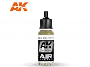 Ak interactive peinture acrylique Air AK2266 Vert Jaune Ki Mdori Iro 17ml