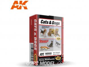 Ak Interactive Doozy DZ022 Chats et chiens 1/24