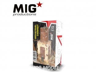 MIG Productions by AK MP72-095 Ruine de cheminée industrielle 1/72
