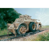 ITALERI maquette militaire 7064 Autoblinda AB40 Ferrovaria 1/72
