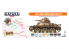 Hataka Hobby peinture laque Orange Line CS21 Early WW2 French Army paint set 8 x 17ml