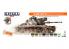 Hataka Hobby peinture laque Orange Line CS99 US Army paint set (MASSTER & DUALTEX) 8 x 17ml