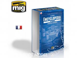 MIG magazine 6169E Boite pour 6 Volumes de l'Encyclopédie des techniques de modelisme des blindés en Français