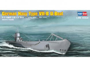 HOBBY BOSS maquette bateau 83504 German Navy VII-B U-Boat 1/350