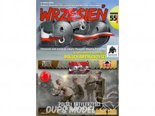 First to Fight maquette militaire pl055 Artilleurs polonais 1/72