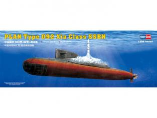HOBBY BOSS maquette bateau 83511 Type 092 Xia Class Submarine 1.